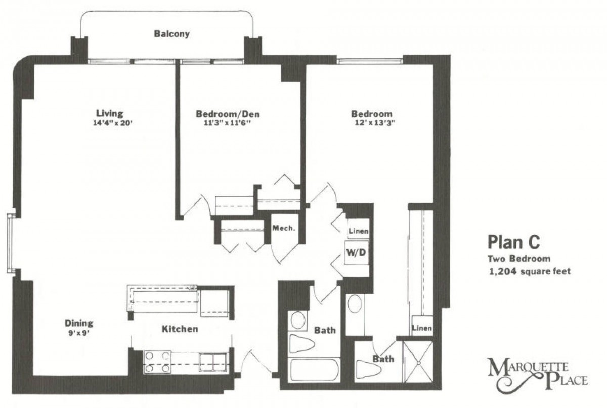 Marquette Place Unit C
